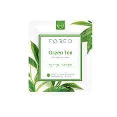 FOREO Osviežujúca a upokojujúca pleťová maska Green Tea (Purifying Mask) 6 x 6 g