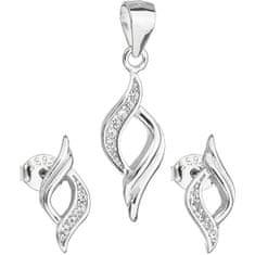 Evolution Group Sada šperků náušnice a přívěsek 19013.1 stříbro 925/1000