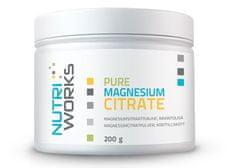 NutriWorks Pure Magnesium Citrate 200g