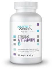 NutriWorks Strong Vitamín B 90kapsúl
