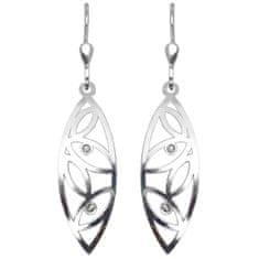 Praqia Fashion fonott ezüst fülbevaló NA0946_RH