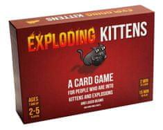 Exploding Kittens igra s kartami Exploding Kittens angleška izdaja