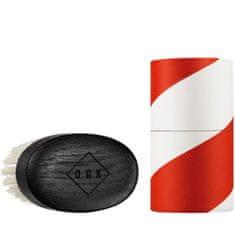 OAK Beard Care Měkký kartáč na vousy a knír - dubové dřevo