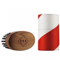 OAK Beard Care Kartáč na vousy a knír - dubové dřevo
