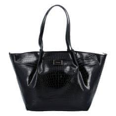 Monnari Eleganntí dámská koženková kabelka MONNARI Lisa, černá