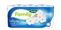 Tento Aróma Cotton Whiteness 8x 8 ks - 2 vrstvový toaletný papier