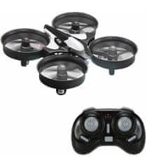 S-Idee JJRC H36 NANO DRON, GYRO, KOMPAS, NÁVRAT, premety, čiernošedý
