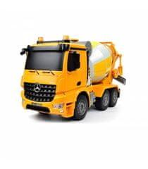 Jamara Merecedes-Benz Arocs CEMENT MIXER 4WD, 1:20, liceneováno, funkčné mix, zvuk, LED, RTR