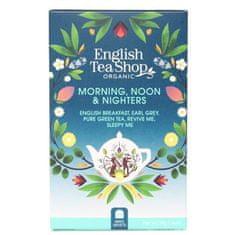 English Tea Shop MIX Ranná, poludňajšie a nočné, BIO 20 vrecúšok