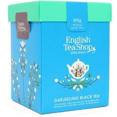 English Tea Shop Čierny čaj Darjeeling sypaný bio 80 g