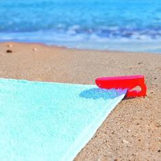 Sada klipů na plážové ručníky (4 pcs)