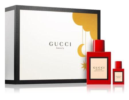 Gucci Bloom Ambrosia Di Fiori poklon set za žene - 2 x parfemska voda, 50 ml i 5 ml