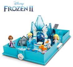 LEGO zestaw Disney Princess 43189 Książka z przygodami Elsy i Nokka