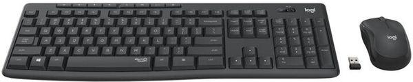 Logitech MK295, CZ/SK (920-009808) myš klávesnice US layout tichá 2,4ghz