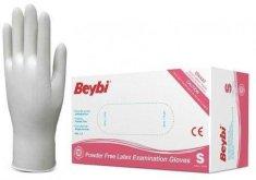 Beybi Ochranné nepudrované rukavice LatexBPL100 latexové