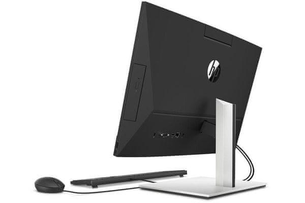 elegantní počítačová soustava hp pro one 440 g6 intel core procesor full hd displej hdd disk wifi ax wlan glan velká ram paměť hdmi 5mpx kamera čtečka paměťových karet displayport klávesnice pc myš v balení
