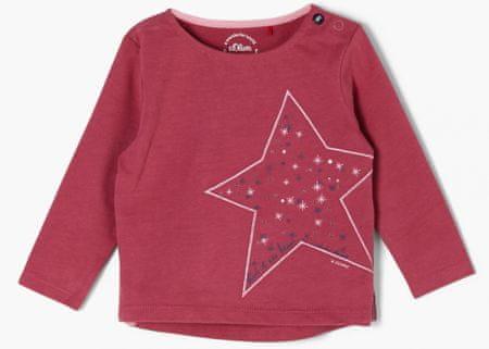 s.Oliver koszulka dziewczęca 405.10.011.12.130.2054649 86 różowa