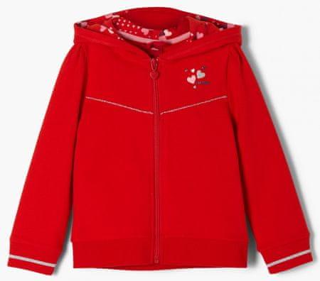 s.Oliver lány pulóver 104 - 110 piros