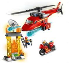 LEGO City 60281 Hasičský záchranný vrtuľník