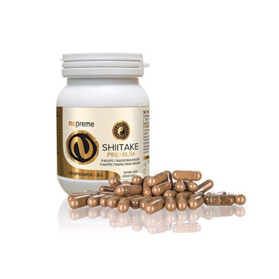 Nupreme Shiitake extract 30% 100 kapslí