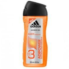 Adidas Adipower gel za tuširanje, 3 u 1, 250 ml