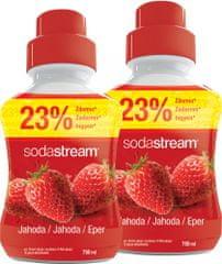 SodaStream SADA SHOP PRÍCHUŤ 2x750ML JAHODA