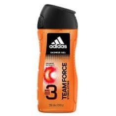 Adidas Team Force gel za tuširanje, 3 u 1, 400 ml
