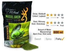 Browning Method feeder krmivo Champions Method Mussel Green 1kg