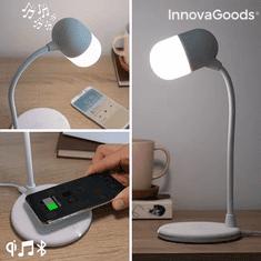 InnovaGoods LED Lampa S Reproduktorem A Bezdrátovým Nabíjením Akalamp InnovaGoods