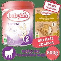 Babybio OPTIMA 2 kojenecké bio mléko 800 g