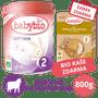 1 - Babybio OPTIMA 2 kojenecké bio mléko 800 g + Dárek nemléčná obilná bio kaše 200 g