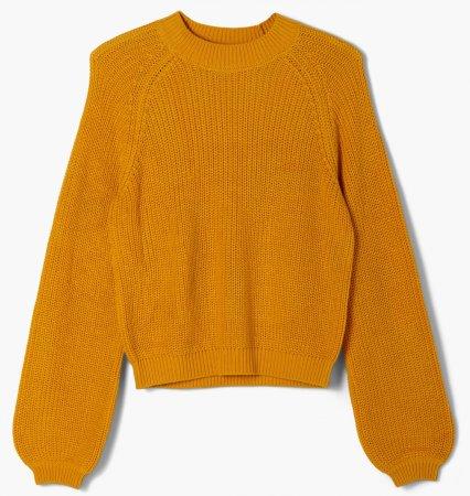 s.Oliver sweter dziewczęcy 401.12.012.17.170.2056381 S żółty