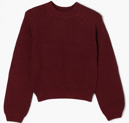 s.Oliver sweter dziewczęcy 401.12.012.17.170.2056381 XL bordowy