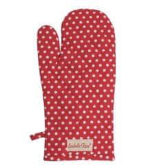 Isabelle Rose Bavlněná chňapka puntík červená 33 cm
