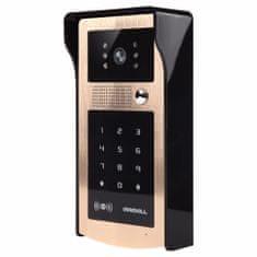 ACS Zoneway Kovový odolný videozvonek ZONEWAY XSL-IDS s RFID čtečkou a klávesnicí