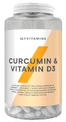 MyProtein Curcumin & Vitamín D3 60kapsúl