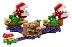 LEGO® Super Mario™ 71382 A Piranha növény rejtélyes fejtörő – kiegészítő készlet