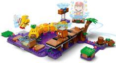 LEGO® Super Mario™ 71383 Wiggler Mérgező mocsara – kiegészítő készlet