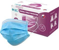 General Public Zdravotnická obličejová maska - rouška (Balení po 50 ks)