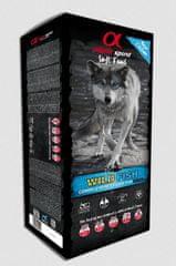 Alpha Spirit polusuha hrana za pse, riba, 9 kg