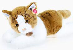 Rappa Plyšová mačka ležiaca, 50 cm