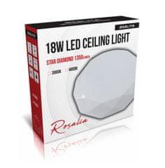 Asalite stropno LED svjetlo - Star, dijamant, 18 W, 3000 K, 1350 lm