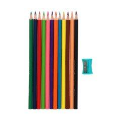 Maped 12-kolorowy ołówek trójdzielny, odwzorowany kolor peps