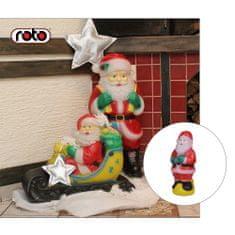 Roto figura Djed Mraz , XS, sa svjetlom