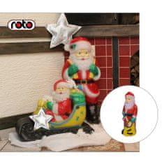 Roto figura Djed Mraz , S, sa svjetlom