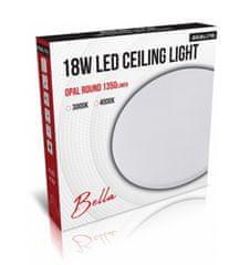 Asalite stropno LED svjetlo - Opal, okruglo, 18 W, 4000 K, 1350 lm