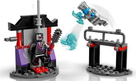 LEGO Ninjago 71731 Hősi harci készlet – Zane vs. Nindroid