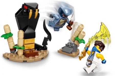 LEGO Ninjago 71732 Hősi harci készlet – Jay vs. Serpentine