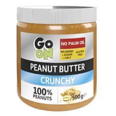 Vieste group GO ON Arašídové máslo s kousky arašídů 500 g