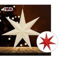 Roto figura Zvijezda, sa svjetlom